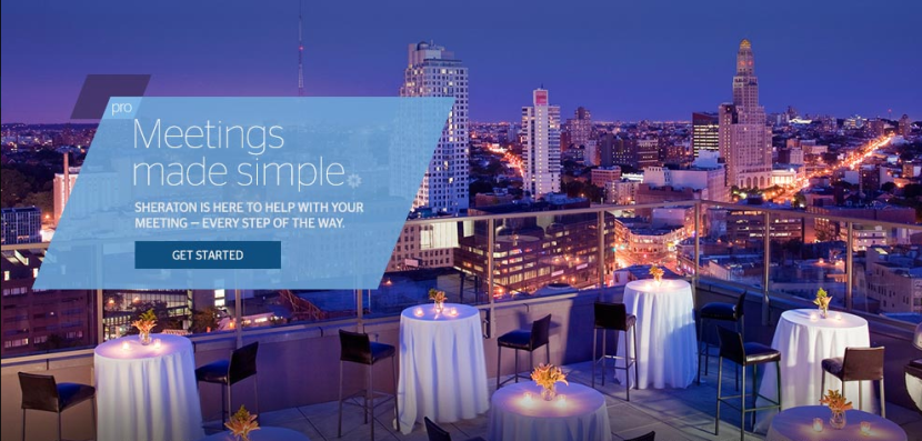 SPG Pro makes planning meetings at Starwood properties both easy and rewarding.