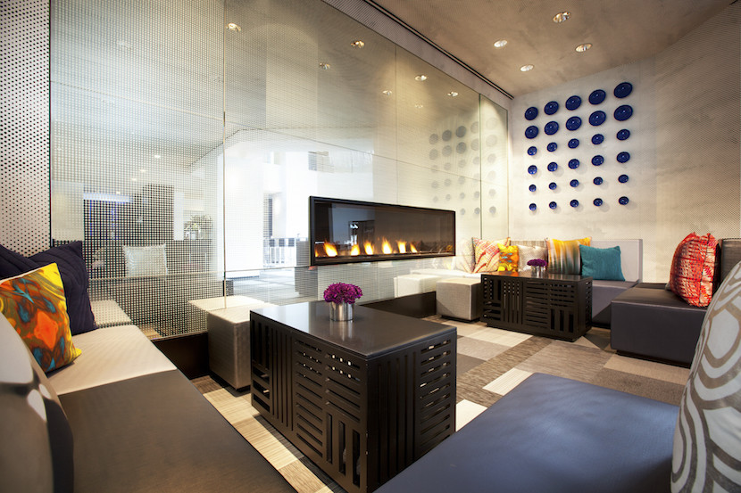 10 hotel lobbies to work from in la sf nyc and chicago for W living room bar nyc