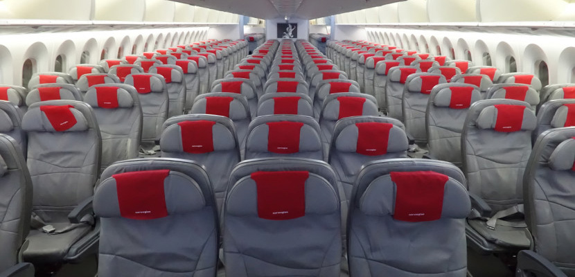 Norwegian's economy product is fairly comfy on the 787.