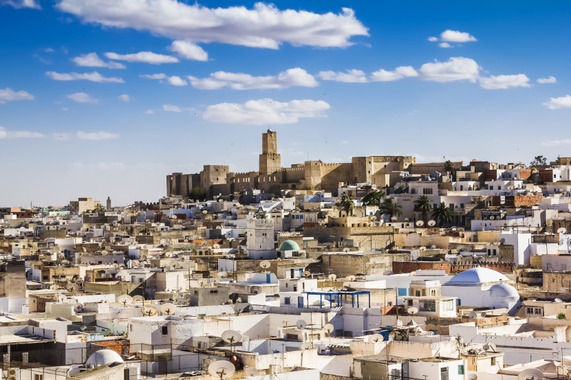 ANA considers Tunisia part of Europe, so you can book slightly cheaper awards.