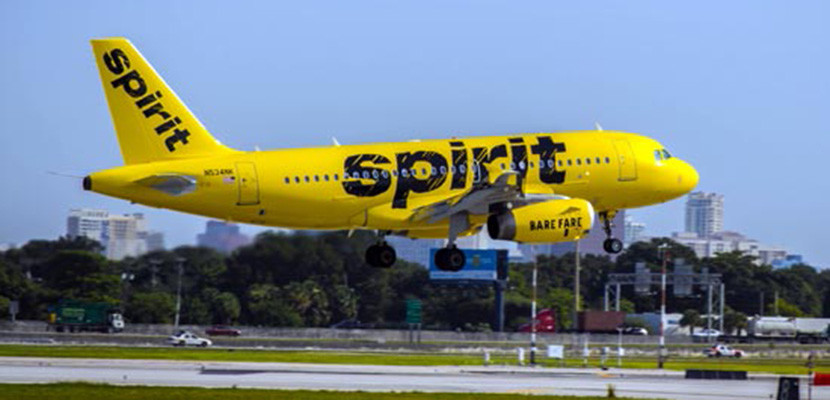 Thank low-cost airlines like Spirit for cheaper fares.