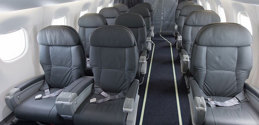 AA Embraer 175 first class