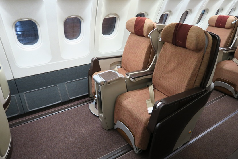 Our seats (2J and 2L) for the 2:20-hour flight from LHR to MAD.