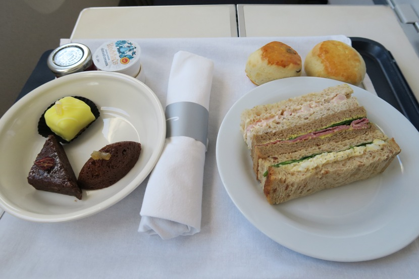 """MyAfternoon Tea choice of """"selection ofsandwiches."""""""