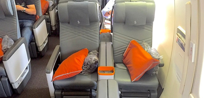 Singapore's A350s will have its new premium economy seats.