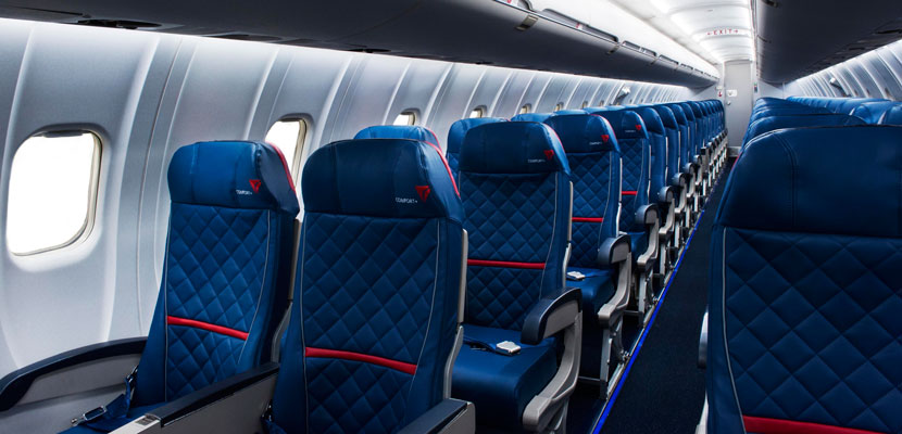 Delta's squeezing more seats on its regional jets. Image courtesy of Delta.