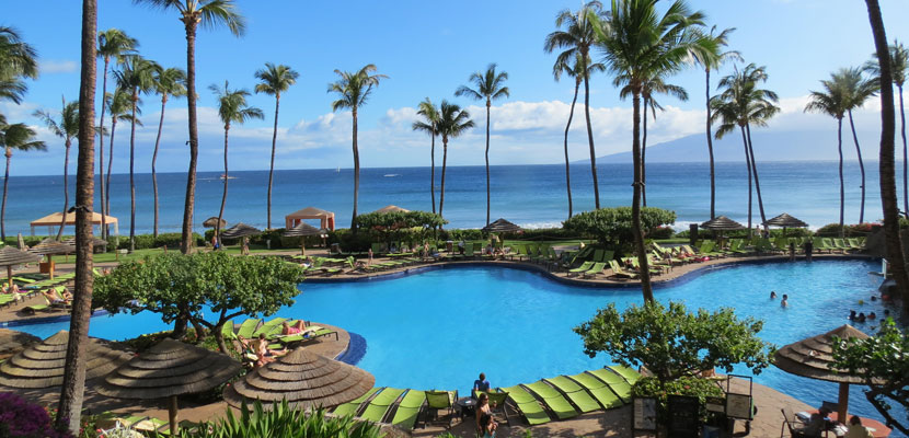 Or take a Hawaiian vacation with your points at the Hyatt Regency Maui Resort & Spa,