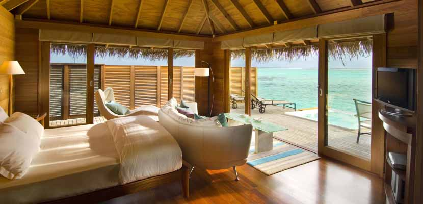 Conrad Maldives Superior water villa featured