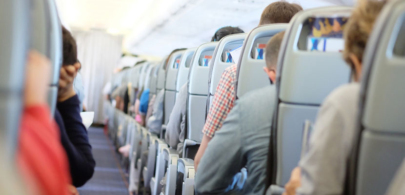 Gearing up for a long-haul flight. Image courtesy of Shutterstock.