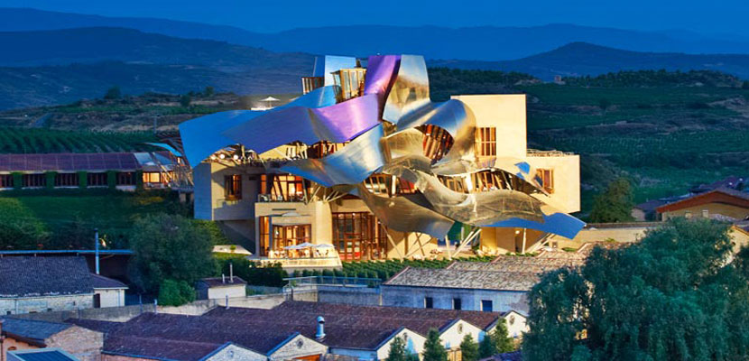Hotel Marqués de Riscal, Elciego, a Starwood Luxury Collection Hotel.
