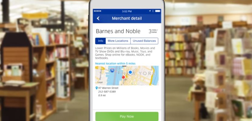 MileagePlus X app Barnes and Noble