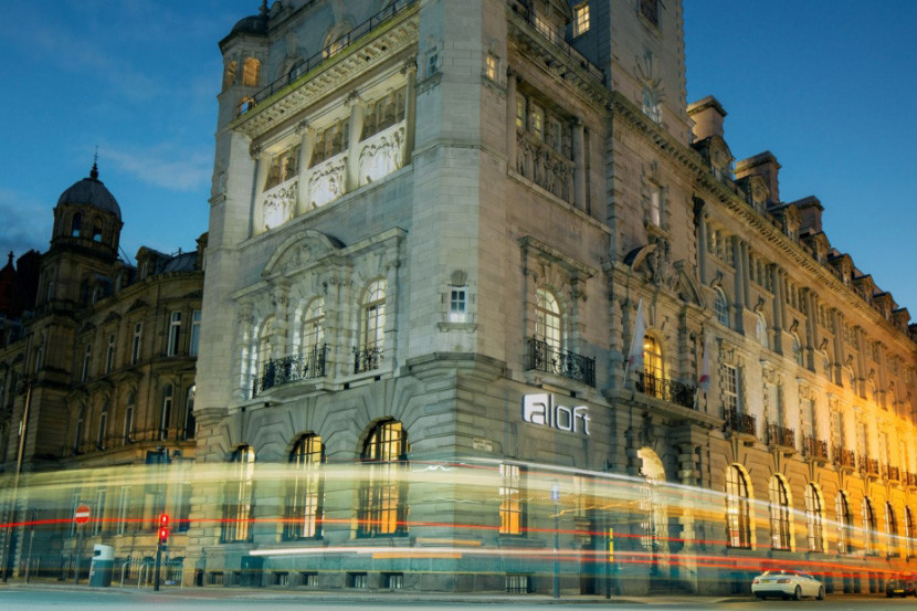 The Aloft Liverpool occupies the former Royal Insurance Building. Image courtesy of Starwood.