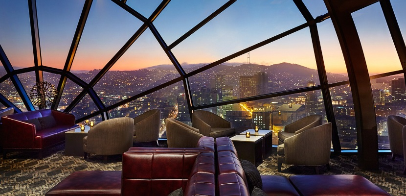 san francisco marriott marquis The View Lounge featured