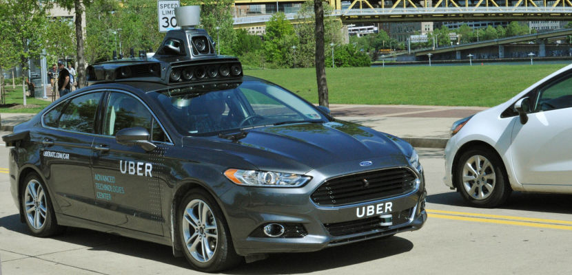 uber self-driving car - featured