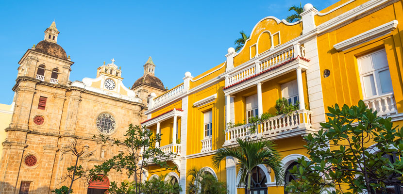 Cartagena, Colombia. Image courtesy of Shutterstock.